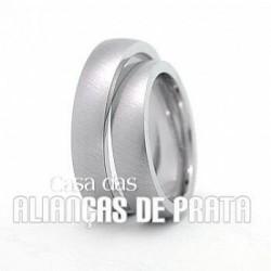 ALIANCAS EM PRATA 950